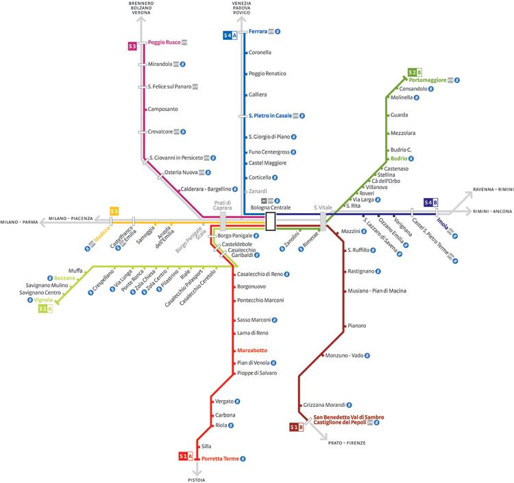 mappa rete sfm